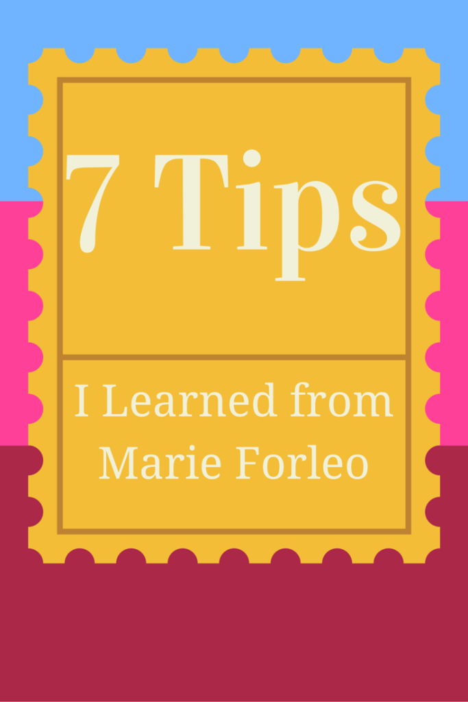 learning from marieforleo_connectingdiamonds_coach